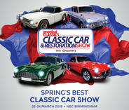 CLASSIC CAR  AND RESTAURATION BIRMINGHAM 2019