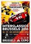 INTERCLASSICS 2016 BRUXELLES