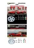 FERRARI TESTAROSSA: 16 inches rims